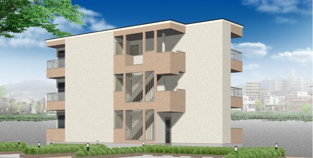 【野芥駅徒歩7分】2021年11月下旬ご入居開始予定の新築物件の1LDKのご紹介です。オートロック設置済み、インターネット使い放題。【早良区野芥】